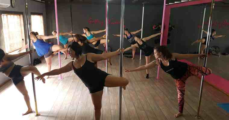 [Review] Pole Dance Fitness Session at Sultry Studios