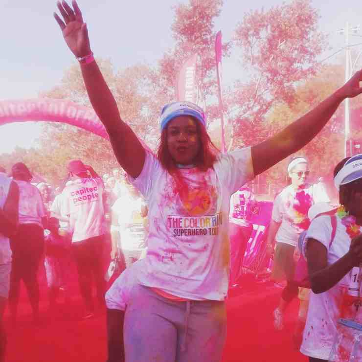 the Color Run pretoria