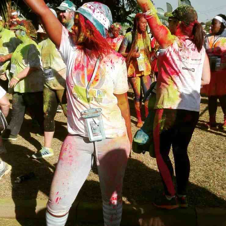 Color Run: Pretoria Superhero Tour