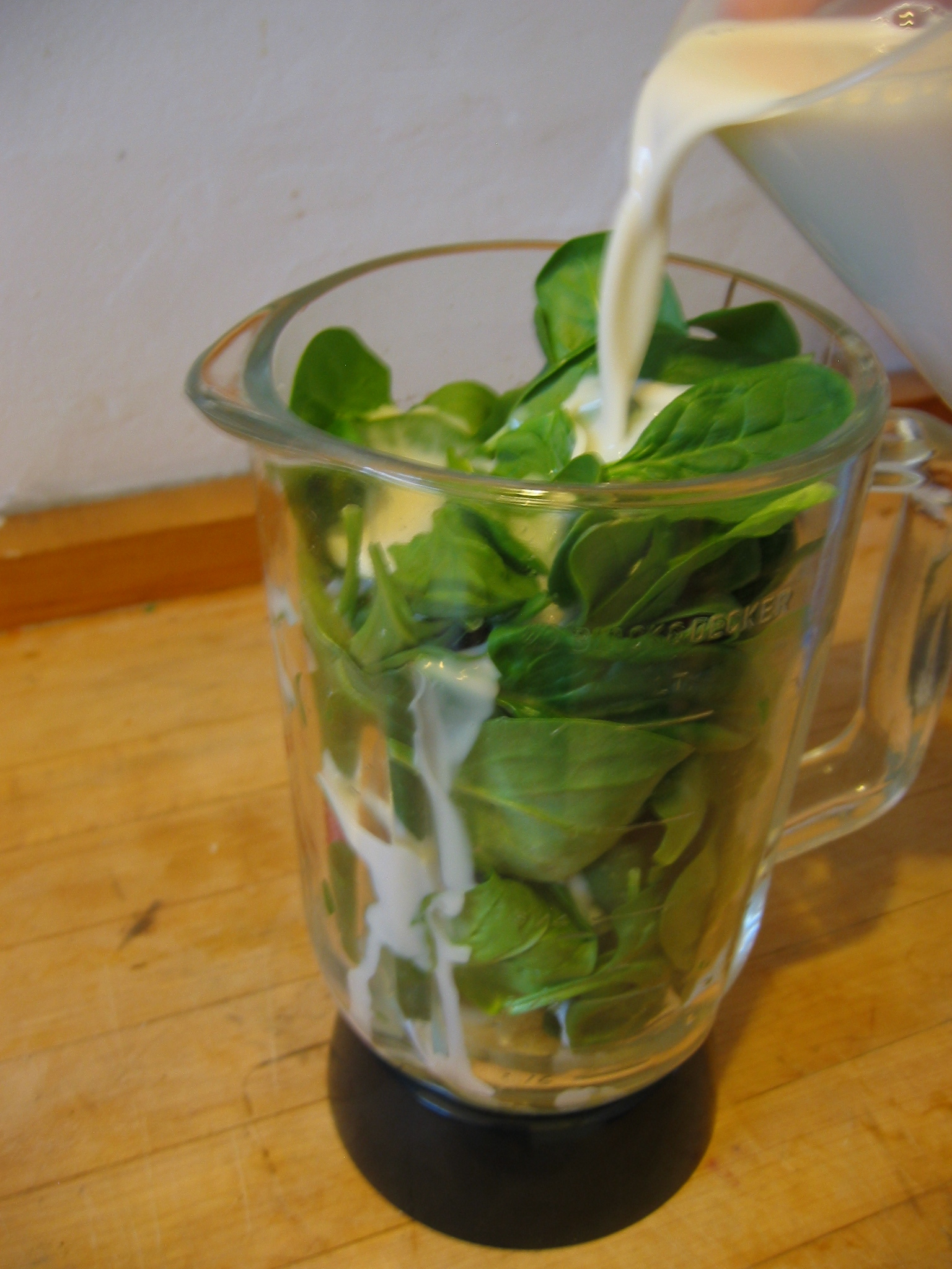 Strawberry/Banana/Spinach Protein Smoothie