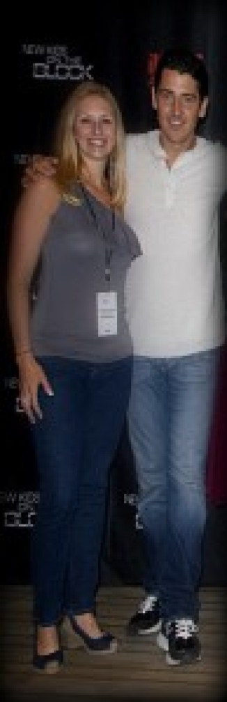 Why yes! That is me and my celebrity boyfriend, Jonathan Knight!