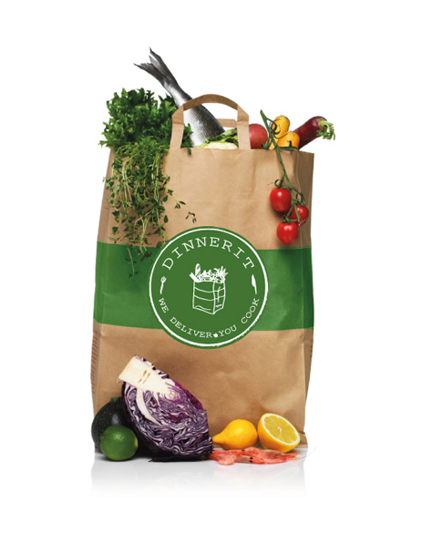 Dinnerit.ca Medium Sized Bag - Meal Delivery Service