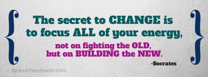 The secret to change...