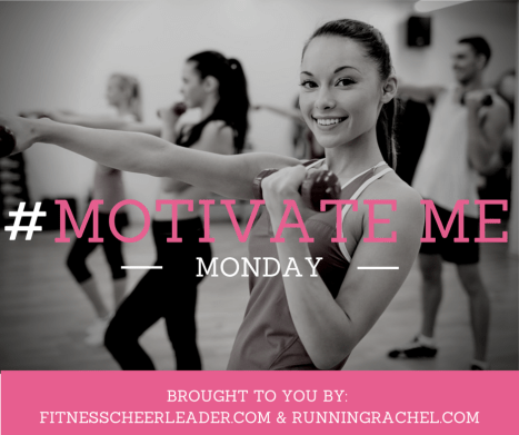 A weekly linkup on Mondays for you to share your weekly fitness plans and meal plans #MotivateMe http://www.fitnesscheerleader.com