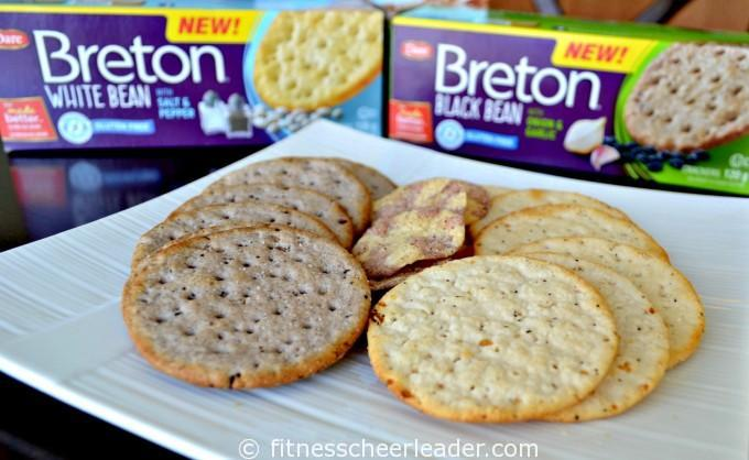Breton Bean Crackers and Cracker chips