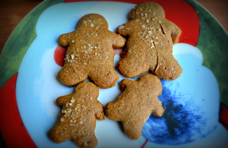 Healthier soft baked gingerbread cookie recipe
