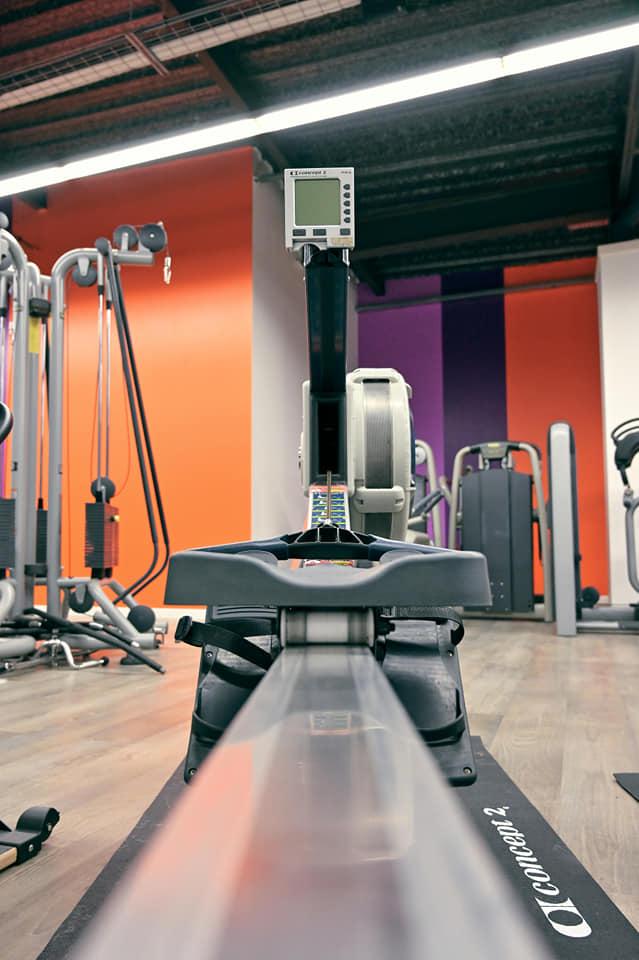 Rameur - Musculation Club GAZEAU