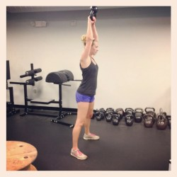 kettle-bell weight training for women