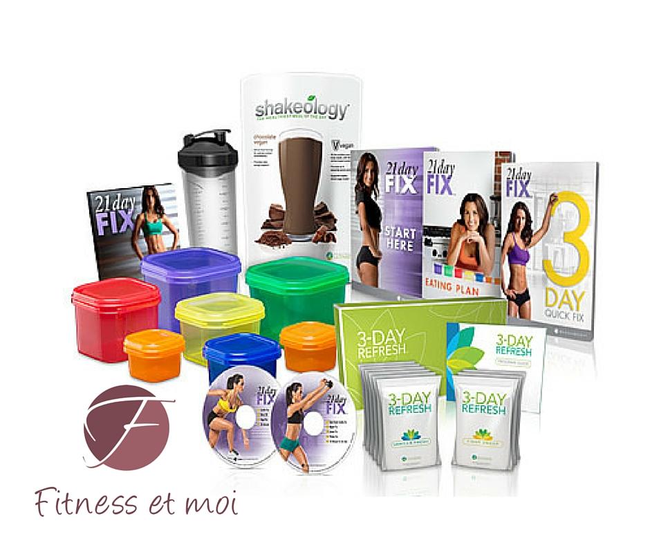 21 Day Fix kickstart en Challenge Pack