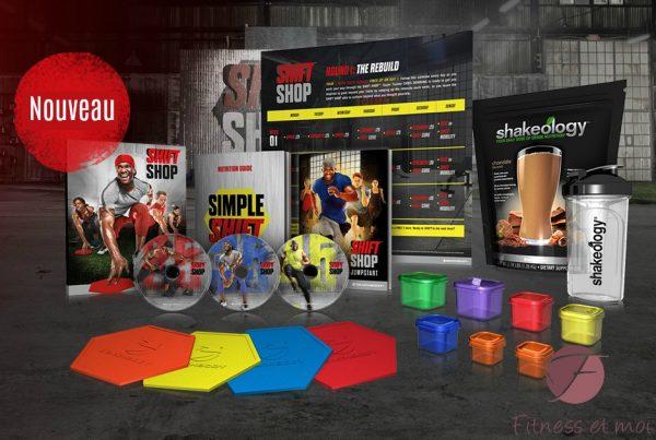 Trousse défi Shift Shop (challenge pack)
