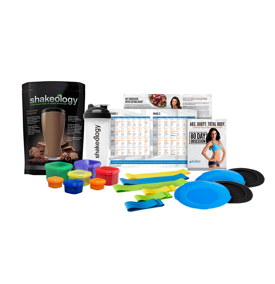 Pack complémentaire 80 Day Obsession et Shakeology