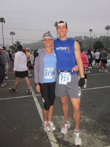 At the La Jolla Half 2011