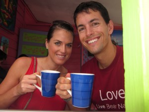 Drinking our Beloved Coffee in Belize