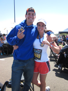 After Our First Marathon! RnR 2011