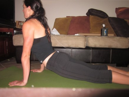 Upward Dog - Stretches Quads and Hip Flexors
