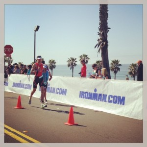 Our Friend Stephen Crushing Oceanside 70.3!