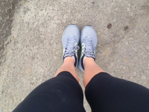 Wearing My New Nikes!