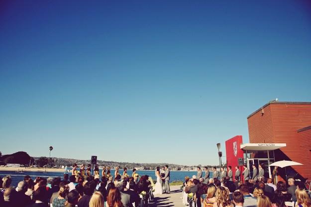 san diego rowing club garty pavilion wedding