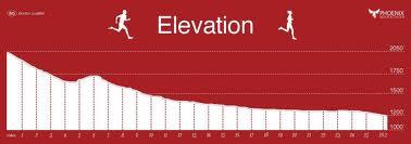 Weeeee! Phoenix Marathon Course Profile