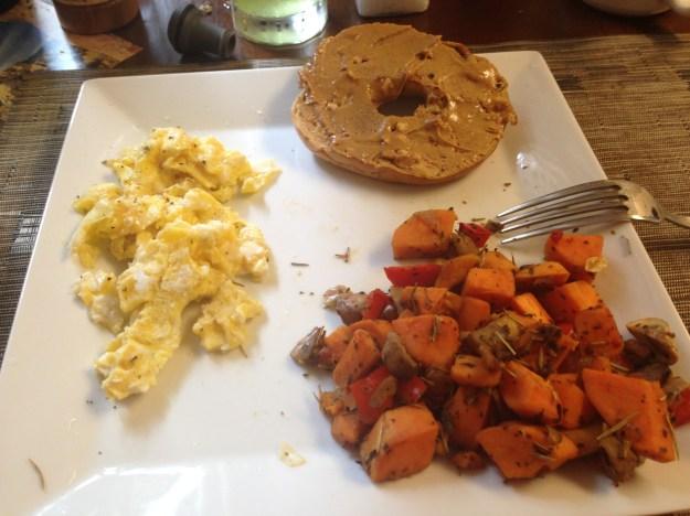 Carbo-loading breakfast