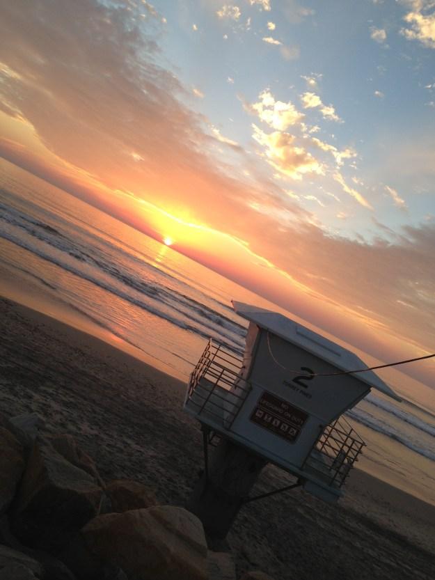 Epic Sunset on Saturday