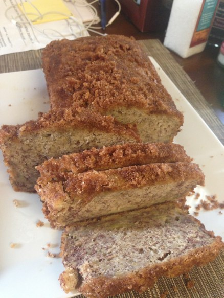 My homemade banana bread! It was an awesome mid-hike treat!