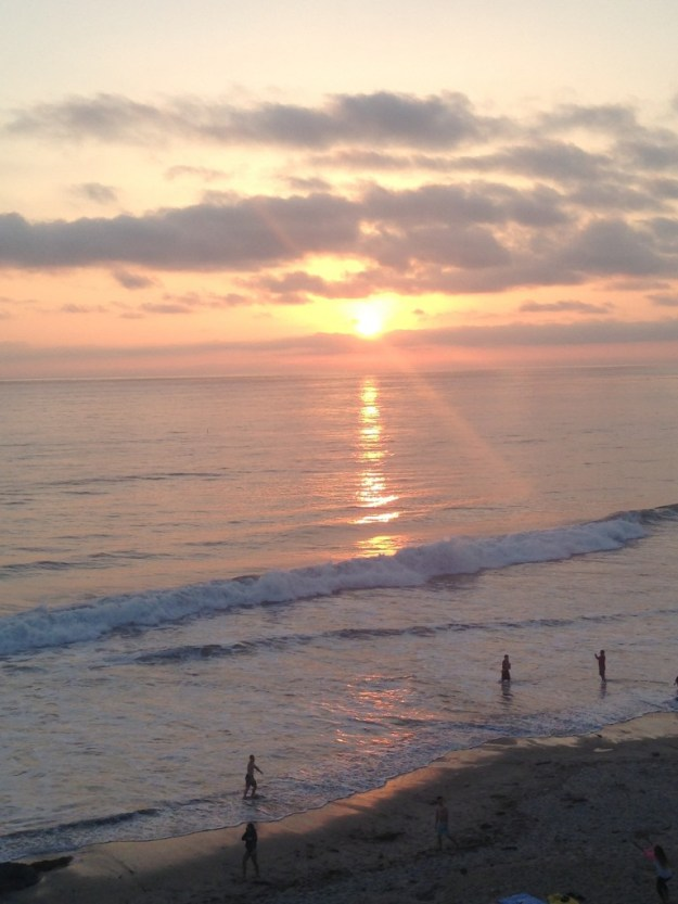 Another beautiful sunset in Encinitas