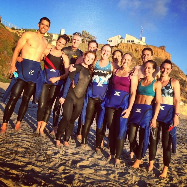 The ACTIVEx crew post swim!