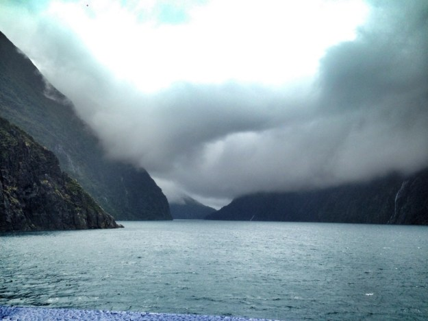 Milford Sound from the boat cruise