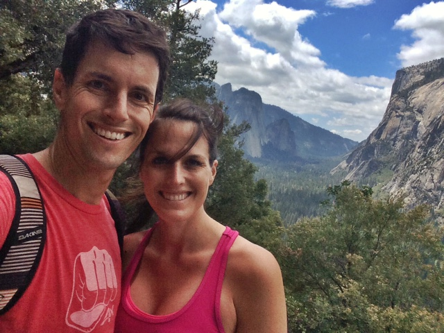 Hiking with my favorite person in Yosemite
