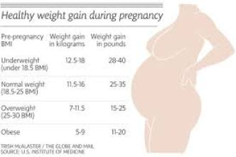 pregnancy weight gain