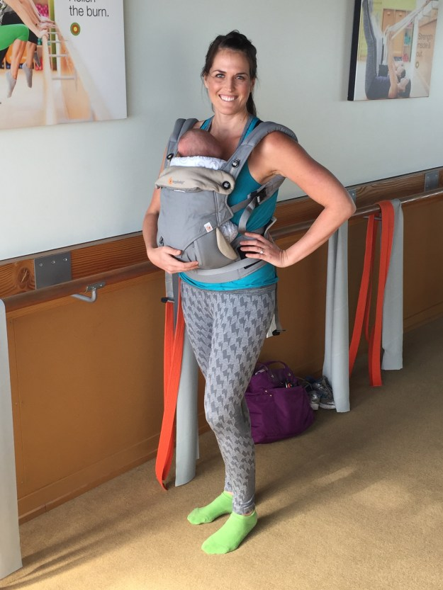 Dailey Baby Mommy and Me Classes San Diego Encinitas Carlsbad Dailey Method Barre for Moms