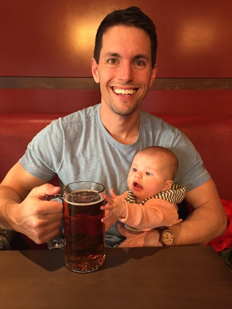 """Siena says """"Beer me!"""""""
