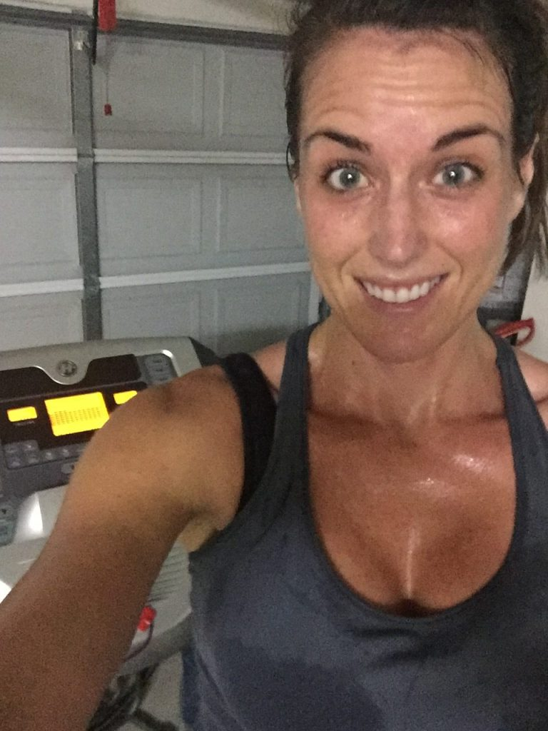 "My ""Sweaty Selfie"" for my 21 Day Fix Challenge group daily task"