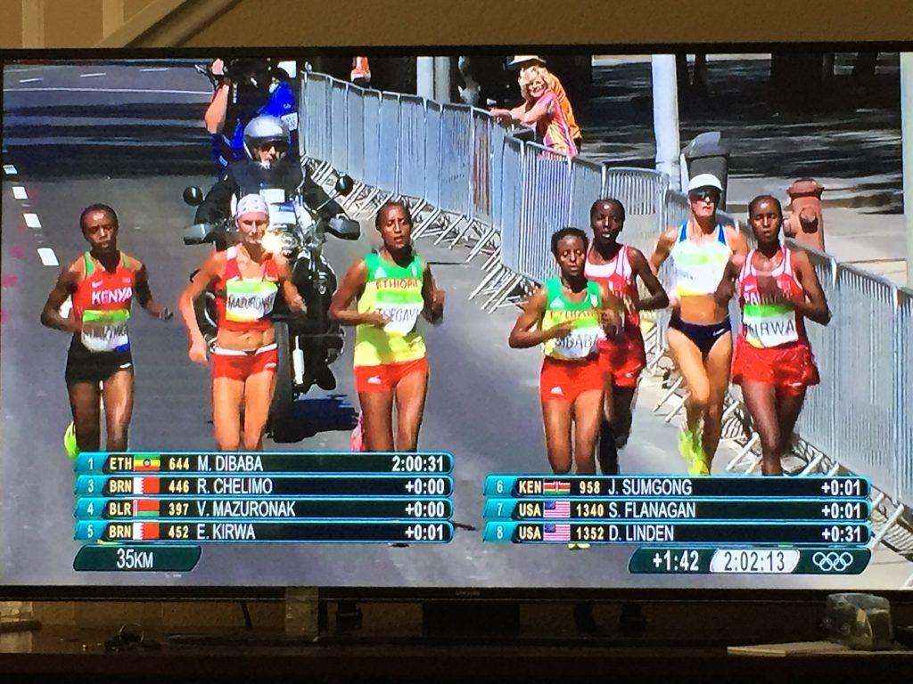 olympics marathon women