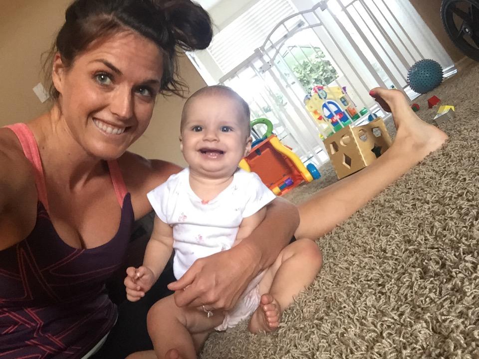 Post Pilates selfie
