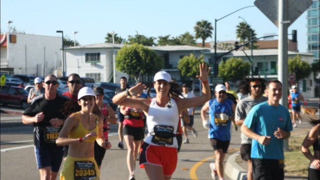 From my first ever marathon the 2011 Rock n' Roll San Diego Marathon