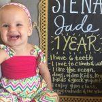 Dear Siena – 1 Year Old