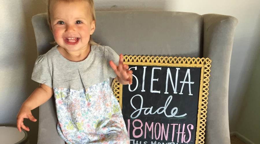 Dear Siena – 18 Months
