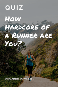 are you a serious runner