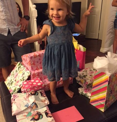 Dear Siena – 2 Years Old
