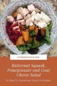 Fall Salad Butternut squash