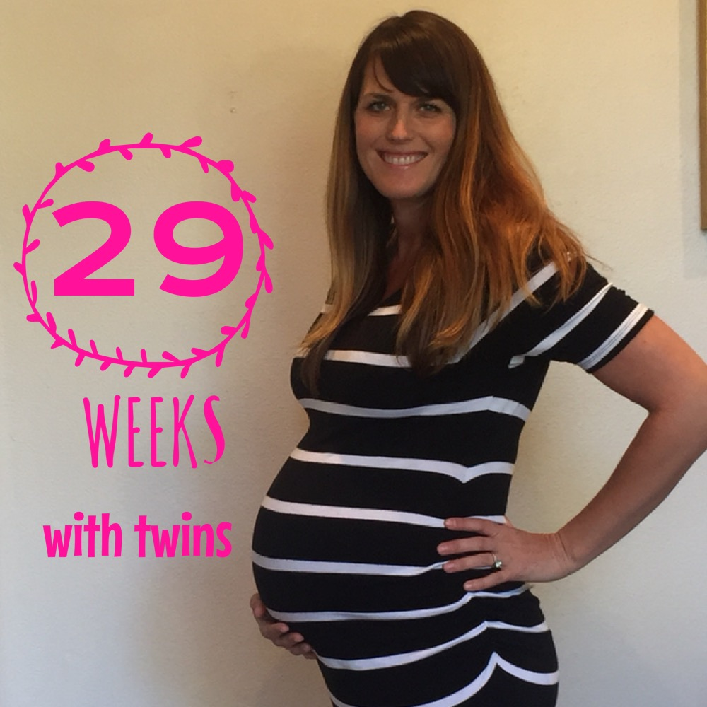 29 weeks pregnant with twins