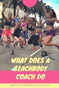 what does a beachbody coach do