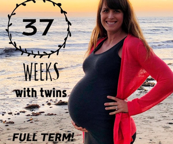 Twin Pregnancy Update: 37 Weeks Pregnant With Twins (FULL TERM!)