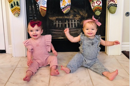 Dear Rowan & Scarlett – 8 Month Old Twins