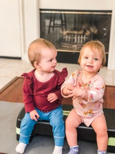 10 month old twin girls blog