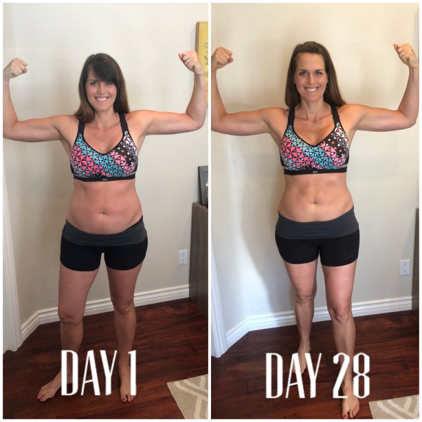 weight loss with 21 day fix and clean week