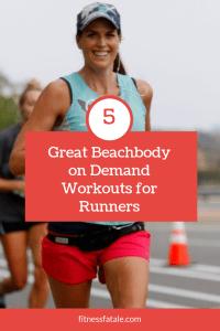 beachbody workouts while training for marathon