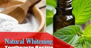 Homemade Whitening Toothpaste